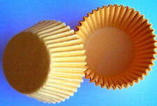 YELLOW CUPCAKE OR MUFFIN BAKING CUPS - pack of 50