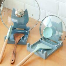 New listing Kitchen Spoon Holder Organizer Plastic Spoon Rest Fork Spatula Chopsticks Rackl