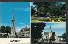 Oxfordshire Postcard - Views of Banbury  RS1764