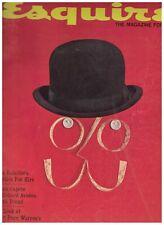 Esquire Magazine September 1959 Truman Capote Richard Avedon Ezra Pound