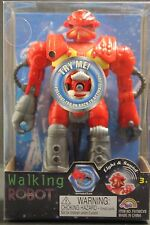 Galaxy Defender II The Walking Red Robot Battery Operated With Light And Sound