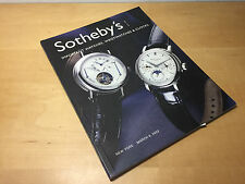 Magazine SOTHEBY'S - Important Watches, Wristwatches & Clocks - NYC 6 March 2003