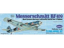 BF-109 Messerschmitt 419mm Wingspan Flying Model Balsa Aircraft Kit from Guillow