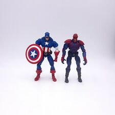 Marvel Legends Face-Off Series Captain America and Red Skull Loose