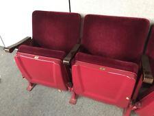 Cincinnati's Famous Music Hall Theatre Chairs