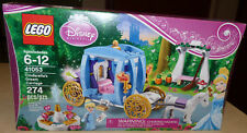 NEW Lego Disney Princess CINDERELLA'S DREAM CARRIAGE Set #41053 Sealed NIB
