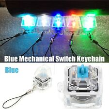 Blue Switch Tester Kit Backlit Light Up Mechanical Keycap Keychain For Cherry MX