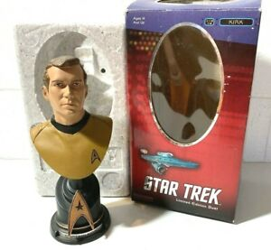 Captain James T Kirk bust Star Trek Sideshow Collectibles #1294   Owned by RAVEN