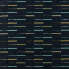 Arc com Etc Indigo Blue Modern Contemporary Abstract Upholstery Fabric