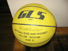 Gls Rbbj Size 5 Basketball-Indoor Outdoor-Official Size& Weight Nylon Wound Ball