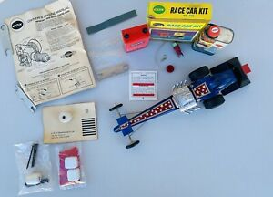 VINTAGE 1970's COX ELIMINATOR II GAS POWERED TETHER DRAGSTER WITH ACCESSORIES