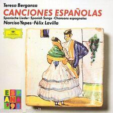 Canciones Espanolas / Berganza, Yepes, Lavilla CD Deutsche Grammophon