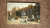 OLD BRITISH POSTCARD c1900, VIEW OF OLD HOUSES HOLBORN ENGLAND