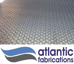 CHEQUER PLATE 3mm mild steel  - Various sizes available - Custom plasma cutting