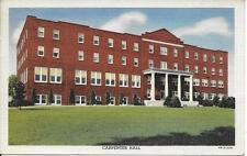 Carpenter Hall Roberts Junior College North Chili NY postcard used in 1947