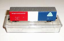 Life-Like 7731 Bangor & Aroostook 50' Evans Box Car BAR 9125 N Scale