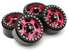 Boom Racing Krait™ 1.9 Golem Aluminum Beadlock Wheels RC Crawlers Red BRW780903R