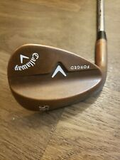 Callaway Forged 56 Degree Wedge With Copper Finish Left Handed