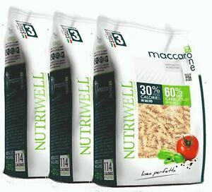 Pasta Proteína Maccarozone Dieta A Zona Fusilli 3 Paquetes Ciao Carb