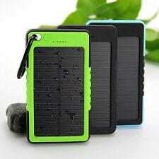 18000 mAh Bateria Solar Externa Power Bank Portatil Cargador Universal