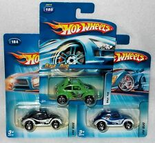 Hot Wheels 2005 Kar Keepers Blue & Black & Green Baja Bug - FREE SHIPPING