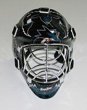 San Jose Sharks Franklin Sports Collectible Mini Goalie Mask - NIB