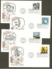 #3187 a-o Celebrate the Century 1950s Set of 15 different Artmaster FDCs