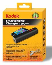 Kodak Smartphone & Tablet USB 1800mAh Charger Power Bank for USB Devices