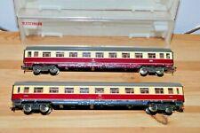 Fleischmann H0 2 x DB IC/TEE-Wagen in OVP/EVP