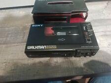 Sony Walkman Professional WM-D6C Kassetten-Player - Schwarz