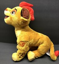 Disney Store The Lion King Guard Kion Plush Stuffed Animal Clean 14 Inch
