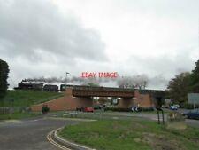 PHOTO  S&D 7F 53808 PASSES OVER BUTTS BRIDGE ALTON DURING THE MID HANTS RAILWAY