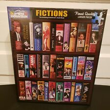White Mountain 1000 Piece Jigsaw Puzzle Fictions Books J. Scott Nicol New Sealed