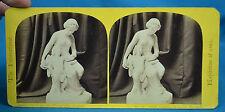 1862 Stereoview The International Exhibition No56 Cupid Captive Calder Marshall