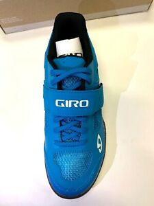NEW Giro Whynd Women's Cycling Shoe Blue Spin Mountain Bike US 8.5 / EU 40