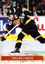 1992-93 Pro Set Gold Team Leaders #12 Trevor Linden