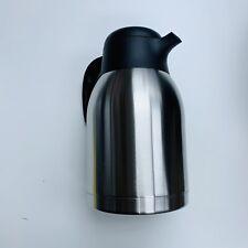 Genuine Joe Double Wall Stainless Vacuum Insulated Carafe Coffee Tea Quality
