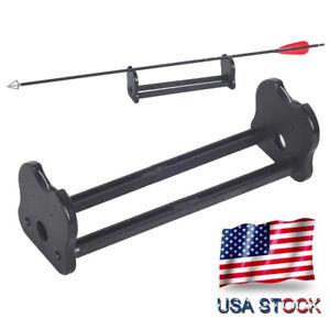 Archery Arrow Spinner Inspector Vanes Point Alignment Straightness Detector Tool