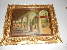 19th/18th Century Colonial Mission Painting