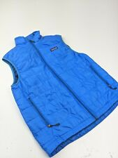 Mens Patagonia Nano Puff Puffer Quilted Vest Light Blue Sz S