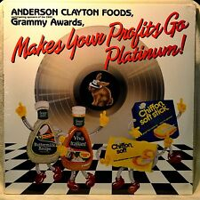 Anderson Clayton Foods Makes Your Profits Go Platinum LP SEALED NEW Advertising