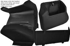 Black stitch quatre pièces inférieur kit de dash couvre fits VW T4 Transporter Caravelle