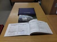 Daewoo Kalos 02-11 Owners Manual Hand Book Wallet  Pack Including Service Book