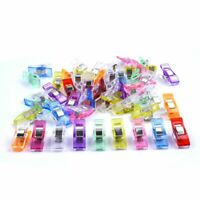 Pack of 50 Wonder Clips For Fabric Craft Quilting Knitting Sewing Crochet