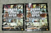 Grand Theft Auto San Andreas Original Poster Ad Print Playstation 2 PS2 Retro