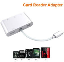 6in1 Usb Memory Card Reader Camera Connection kit For iPhone XS X XR 8 7 6 iPad