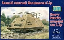 S.Sp, Heavy infantry armored car << UM #256, 1:72 scale