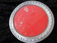 Teller Gebäckplatte Servierplatte Tortenplatte Design rund ROT
