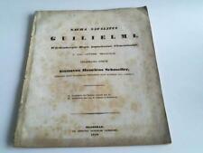Schmoller, Gustav Henrick: Sacra natalitia Guilielmi, Württembergiae regis ...