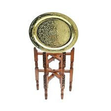 Marokkanischer Tisch orientalischer Messing Beistelltisch Arabischer Teetisch 50